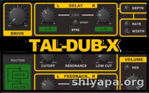 Download Togu Audio Line TAL-Dub-X v1 2 1 Incl Keygen (WiN