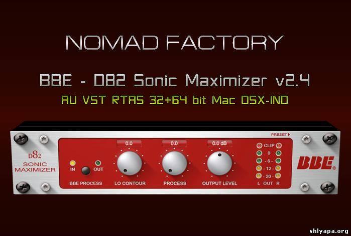 Download BBE - D82 Sonic Maximizer v2 4 AU VST RTAS 32+64
