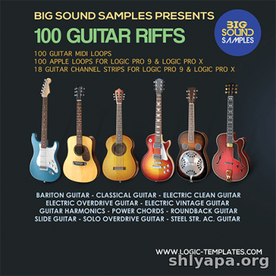 Download Big Sound Samples - 100 Guitar Riffs Apple-Midi